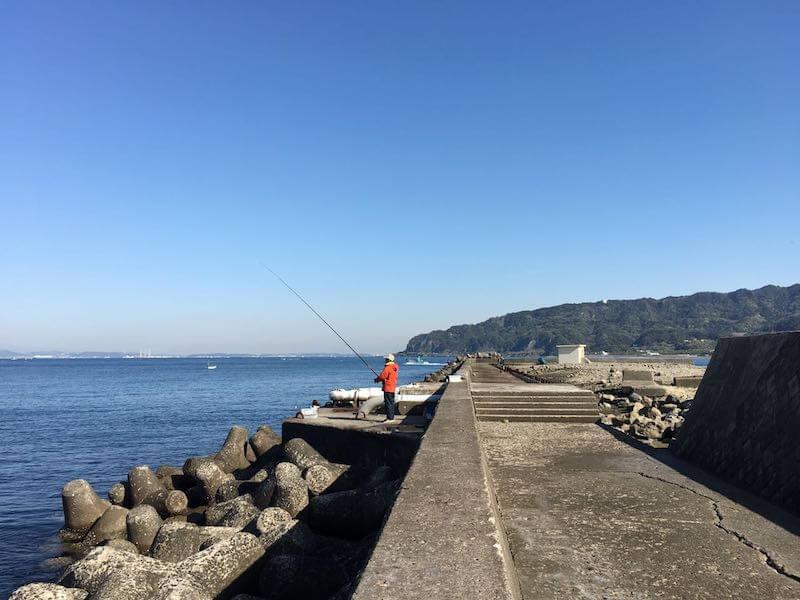 イカ釣りポイント